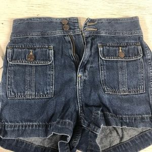 Gap High-Waisted Jean Shorts